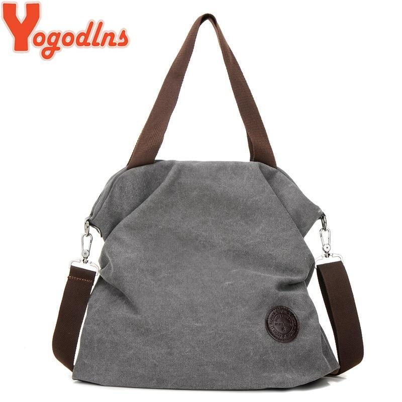 Women Corduroy Canvas Tote Ladies Casual Shoulder Bag