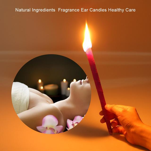 10Pcs Ear Fragrance Wax Candles Removal Therapy