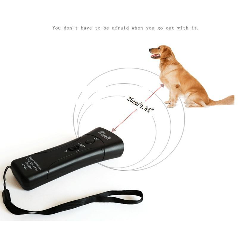 New Ultrasonic Stop Dog Barking Device