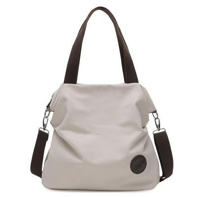 Limited Edition Casual Canvas Retro Tide Bag Middle School Student Travel Bag