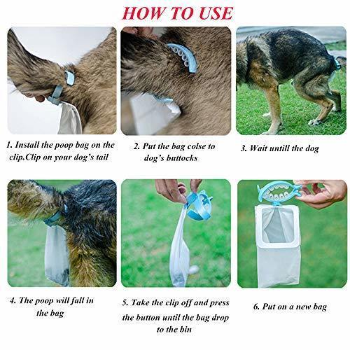 Best Seller Tail Holder Hands Free Pet Faeces Container