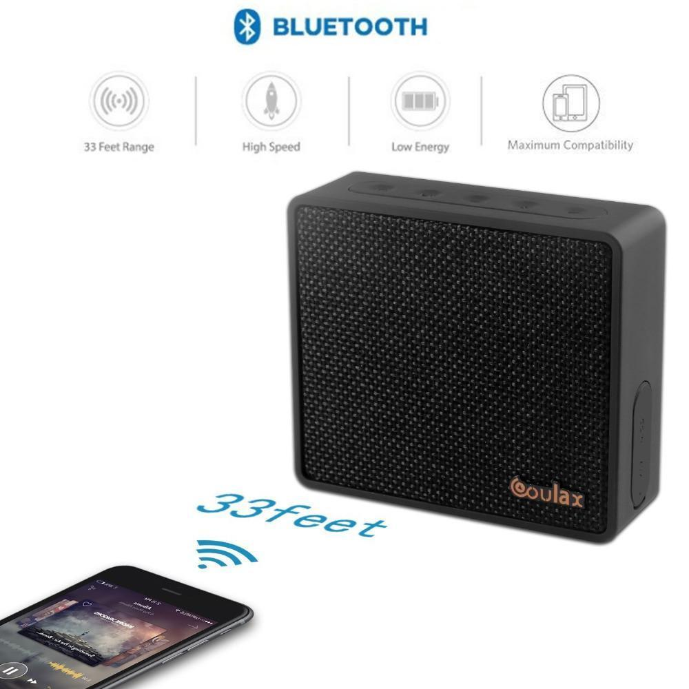 New Bluetooth Classic Mini Sound Box Portable Speaker with Powerful Sound with Enhanced Bass