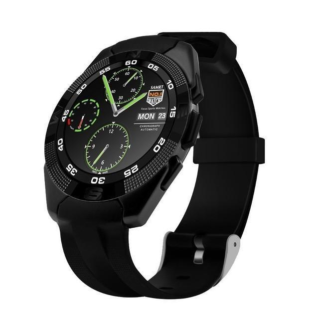 New Adventurer's Alloy Bluetooth Sport Smart Watch with Heart Rate Monitor Pedometer Fitness Tracker SMS Call Reminder