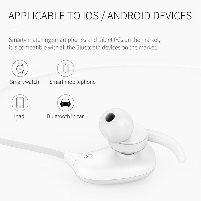 New Auriculares Wireless Bluetooth Sports Headphone Headset Earphones with Microphone for iPhone Android Xiaomi