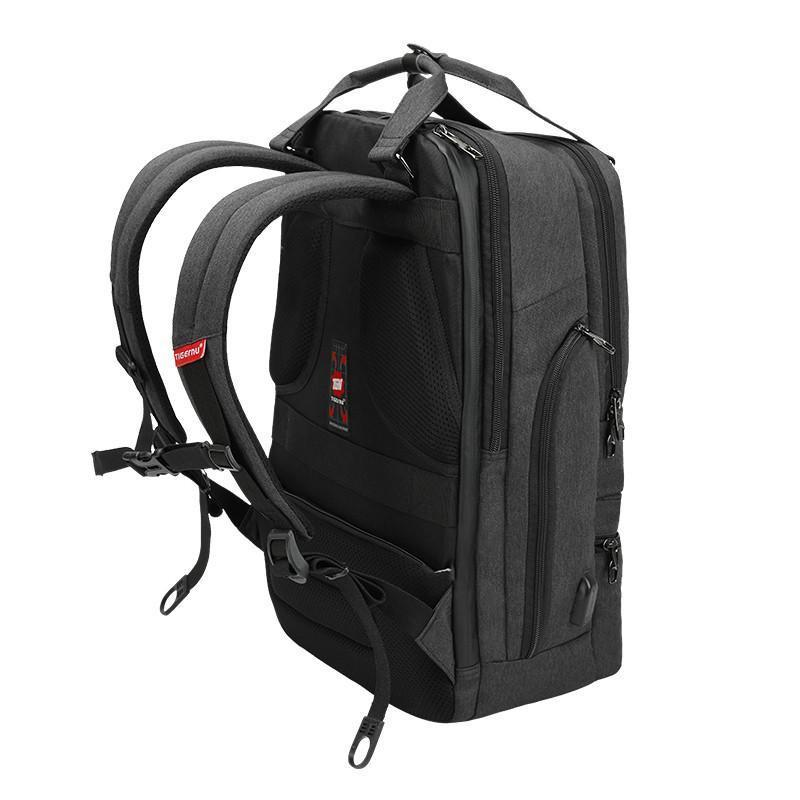 New 15.6 Inch Laptop Backpack with USB Charge Computer Bag for Men and Women