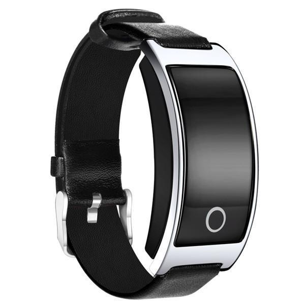 Vintage Style Bluetooth Smart Bracelet with Blood Pressure Heart Rate Monitor Calories Pedometer Fitness Wristband for IOS Androids