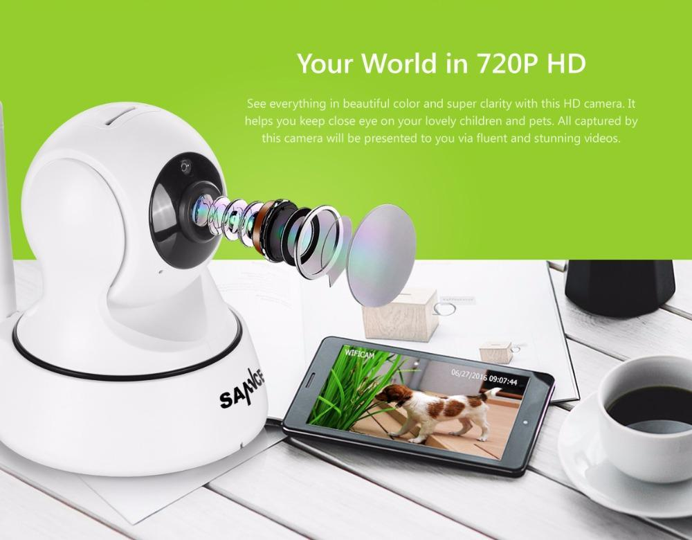 720p IP Camera - Night Vision