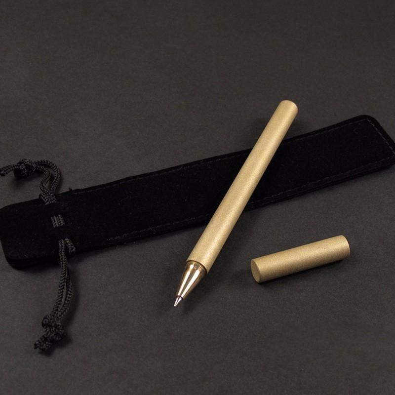 Vintage Brass Self-protect Pen