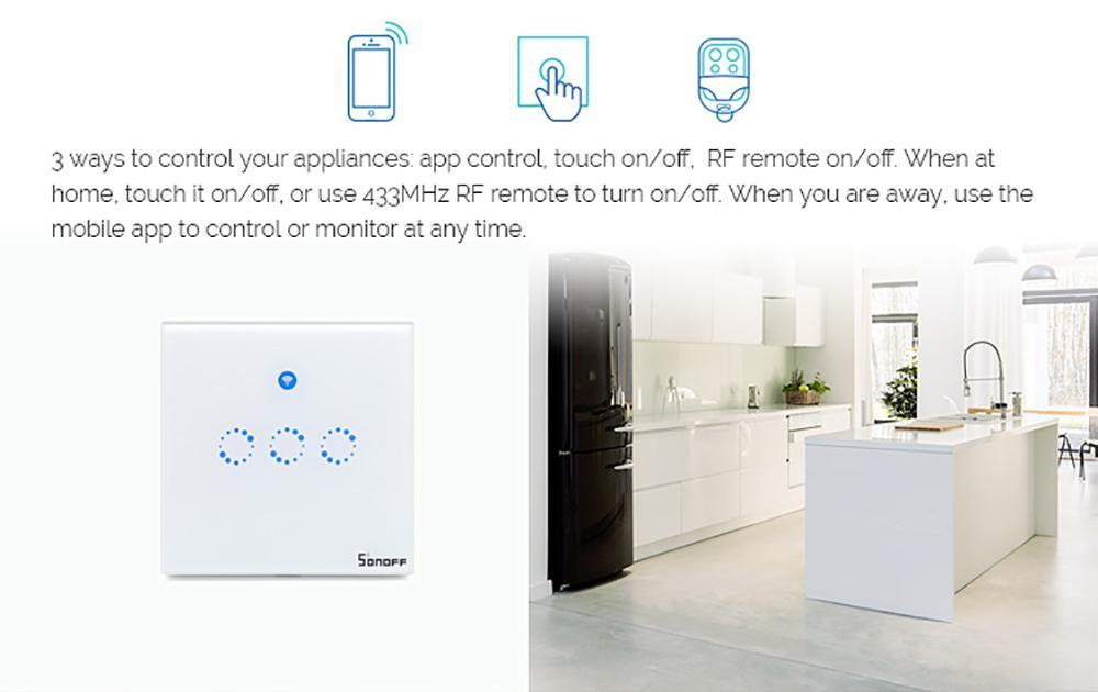 Sonoff T1 Smart Wall Light Switch