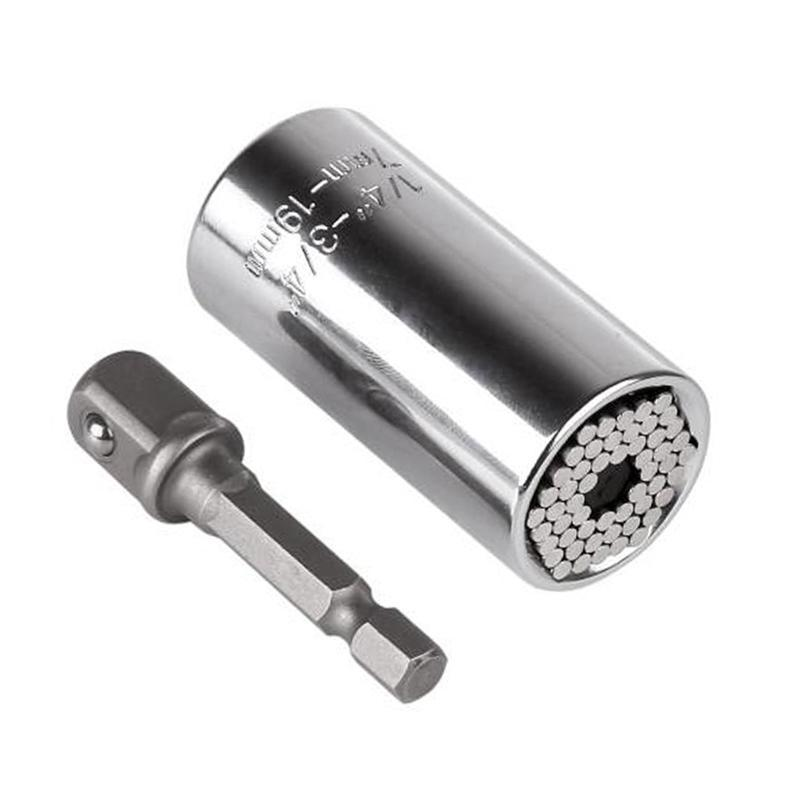 Universal Grip Socket Wrench