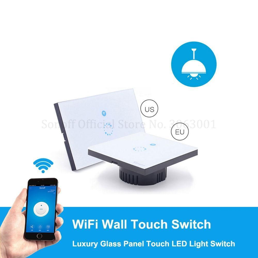 Sonoff Touch EU US Wifi Wall Touch Plug