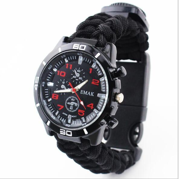 Tactical Paracord Watch