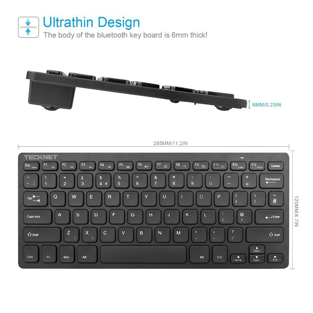 TeckNet 2.4G Wireless Keyboard
