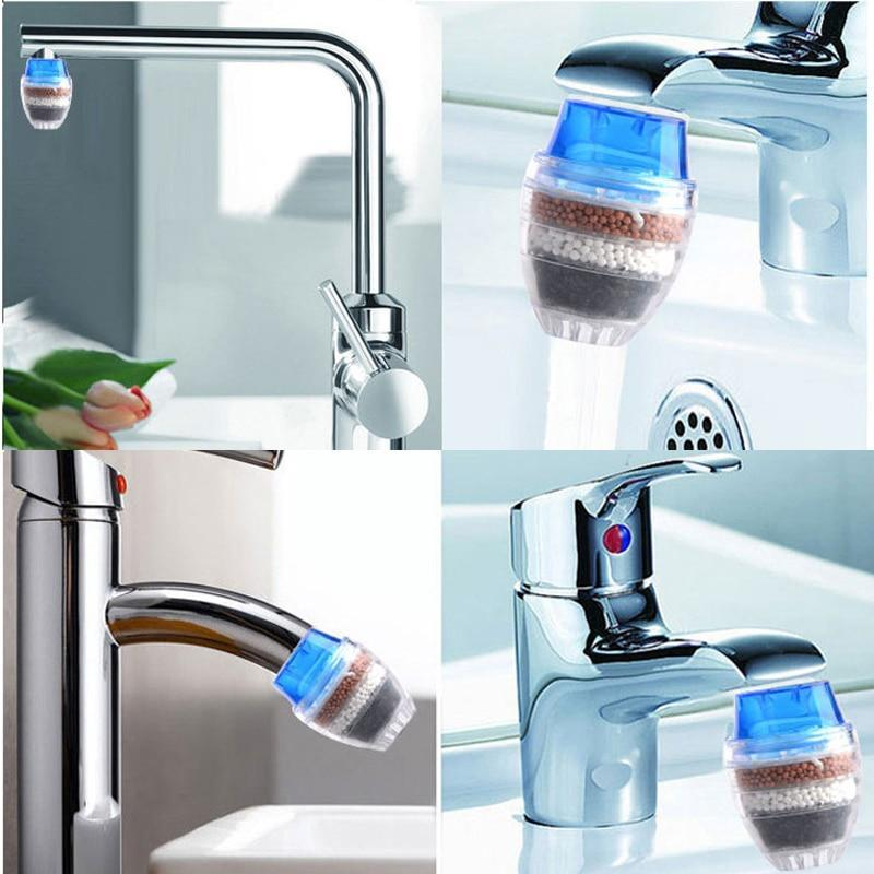 Household Kitchen Faucet Activated Carbon Water Purifier