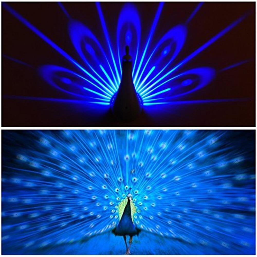 Peacock Wall Lamp