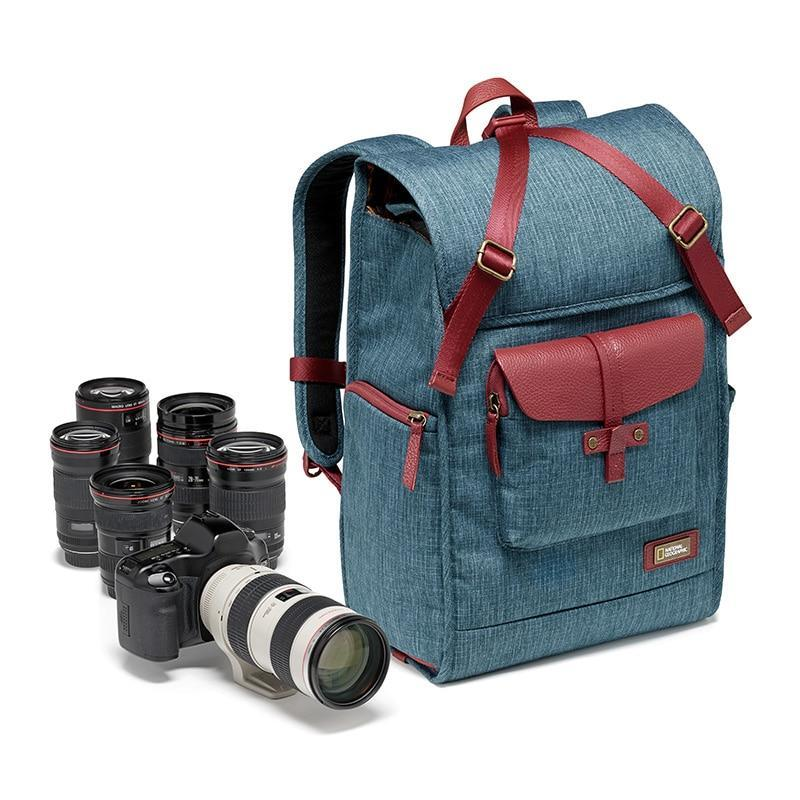 National Geographic Leather Camera Backpack NG AU5350