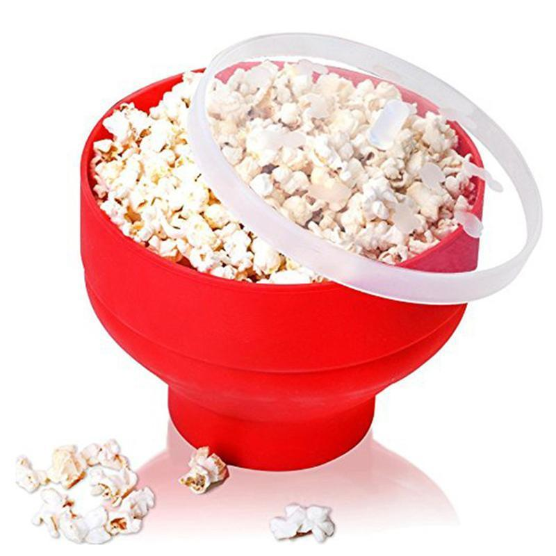 Aisha's Microwave Silicone Bowl Popcorn Poppers