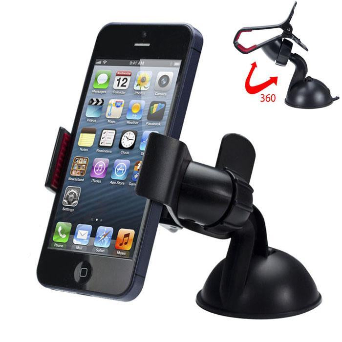 Universal 360 degree Car Windshield Mount Phone Holder