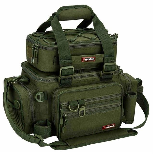 Piscifun Multifunction Fishing Tackle Bag