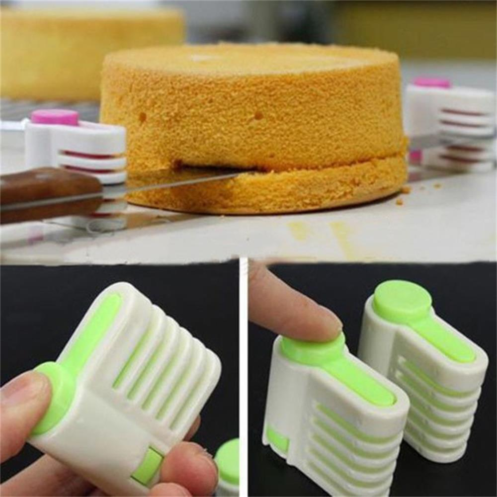 2pcs/pack 5 Layers Adjustable DIY Cake Bread Cutter