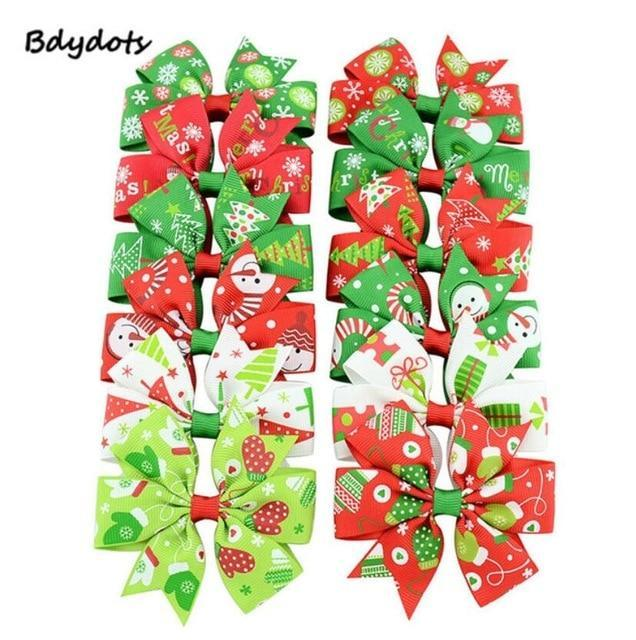 "20Pc 3"" Baby Girl Toddler Hair Bows Alligator Clip"