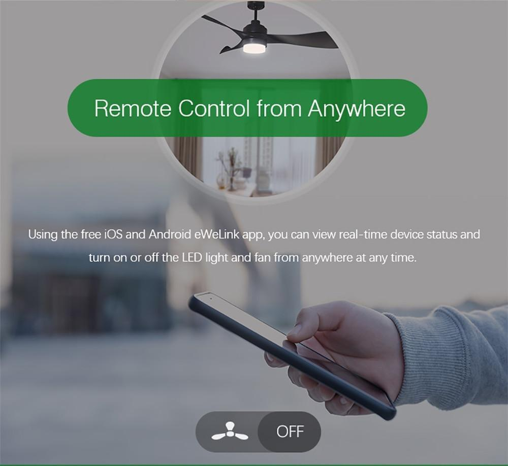 Sonoff Smart Switch for Fan