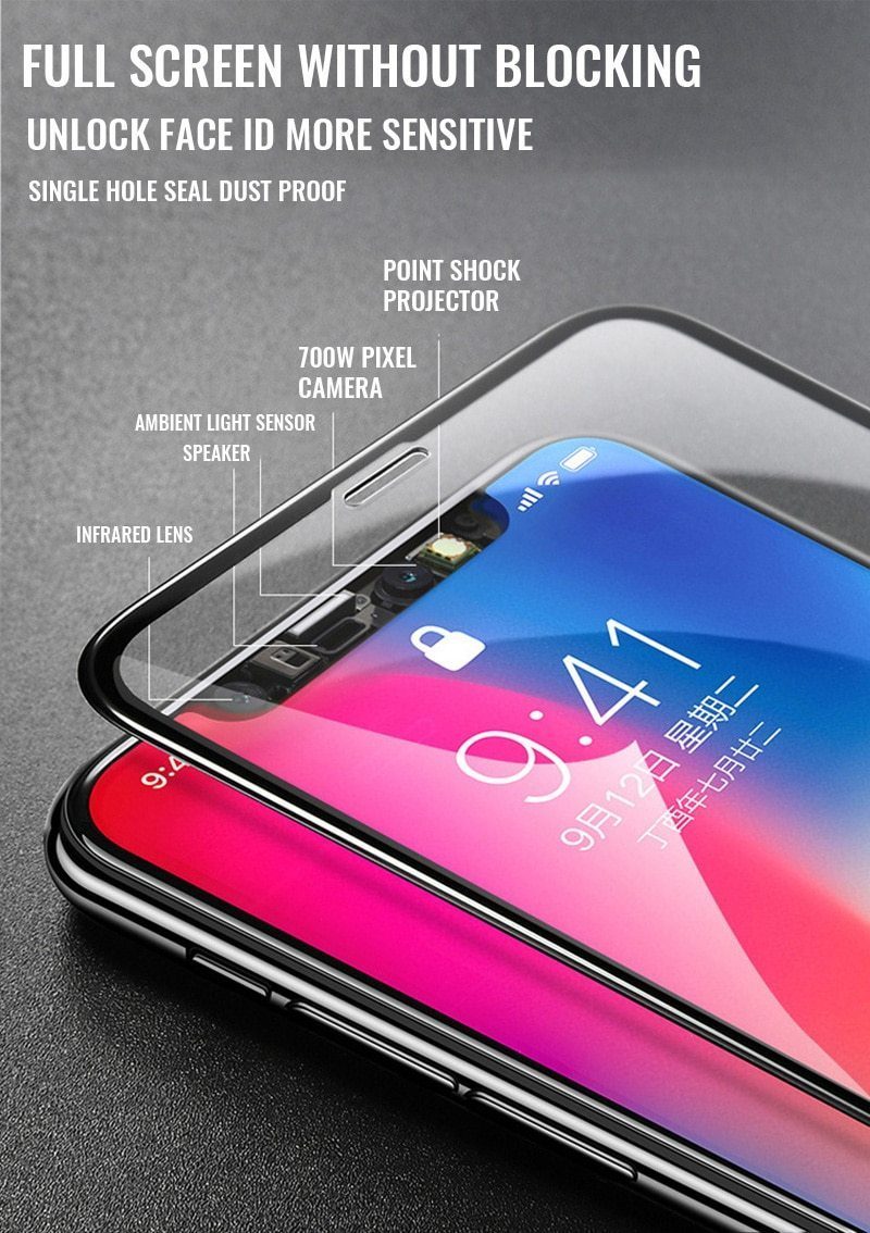 11D Protective Glass For iPhones