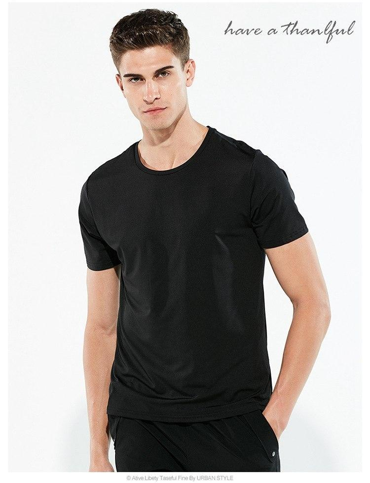 Hydrophobic Anti-fouling T-shirts Men Waterproof Anti-pollution Quick Dry