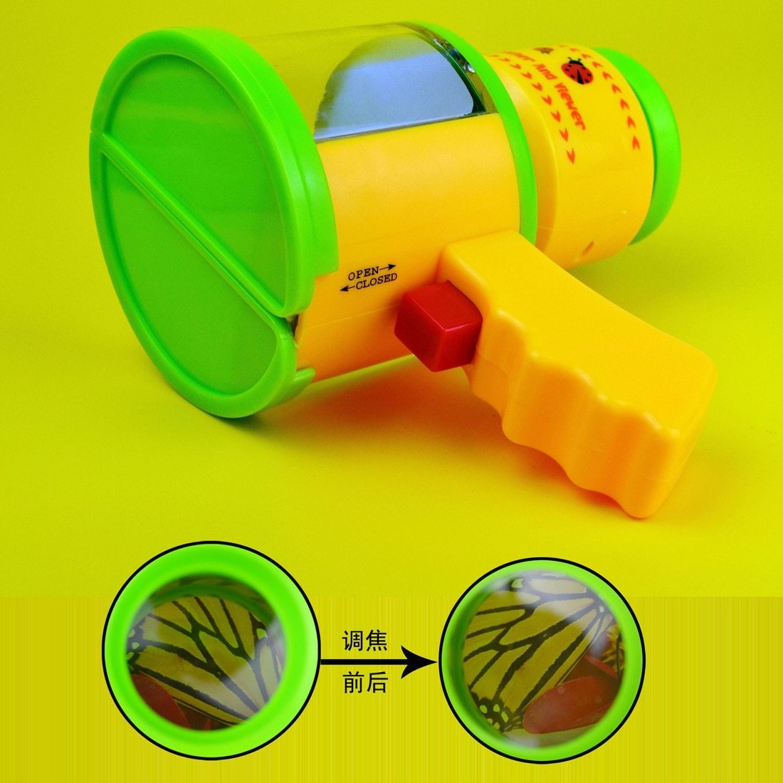 Insect Magnifier Microscope Catching Kit