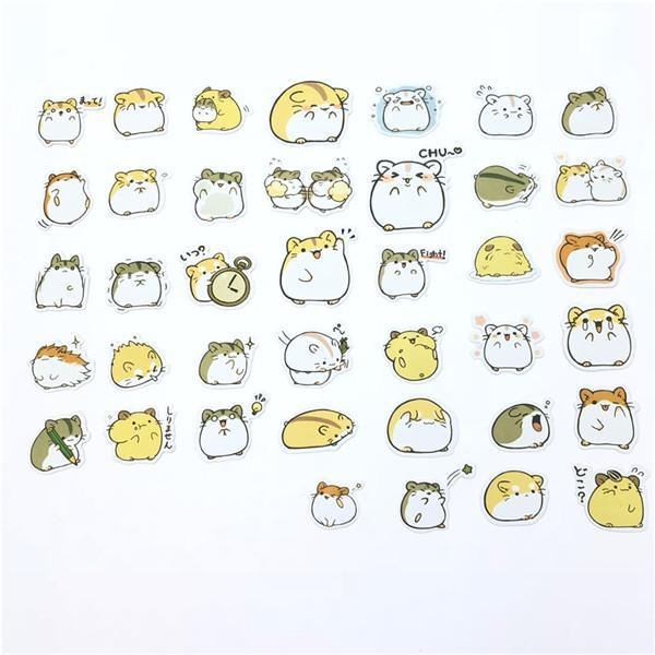 Korean Style Decorative Adhesive Stickers