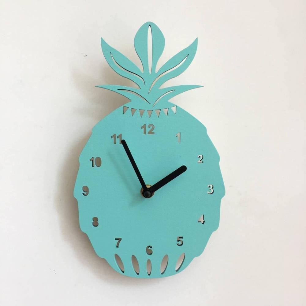 Pineapple Wooden Wall Clock