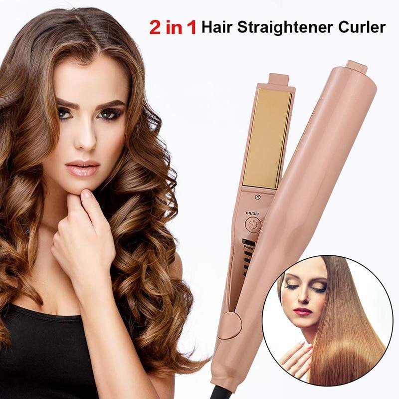 High Quality Gold Plated Hair Straightener
