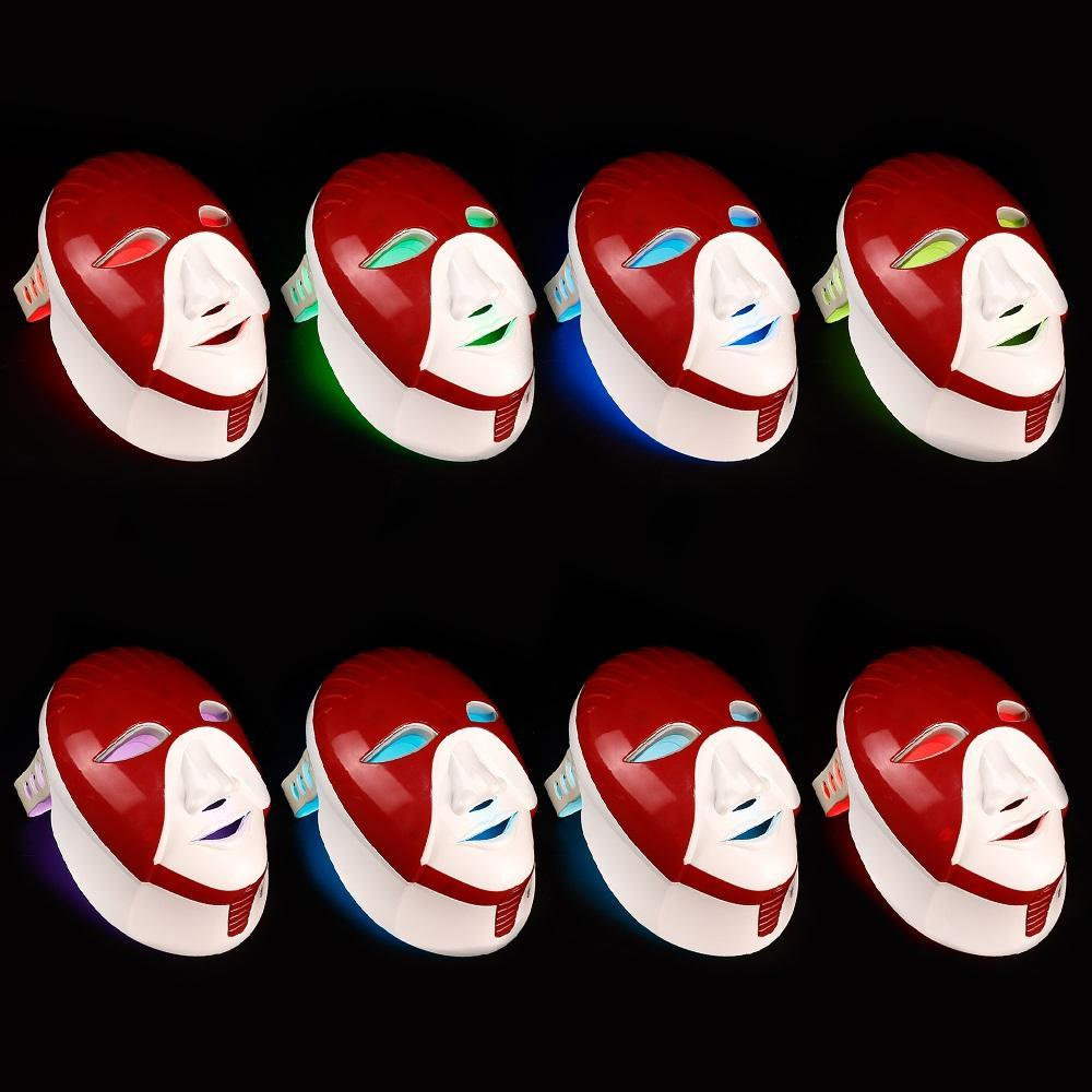 7 Colors Led Mask For Skin Care Led Facial Mask