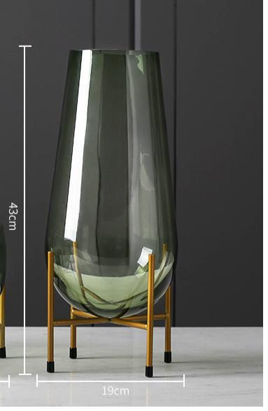 Luxury Glass Vase Home