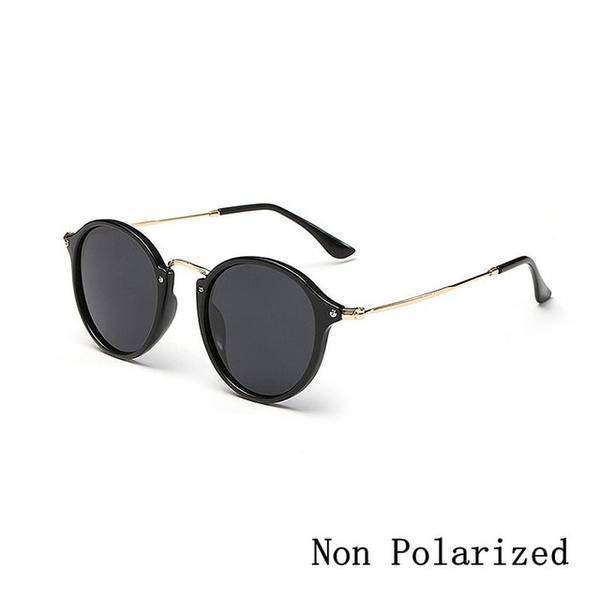 New Arrival Round coating Retro Sunglasses