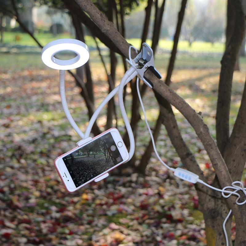 Selfie Ring Light Phone Stand