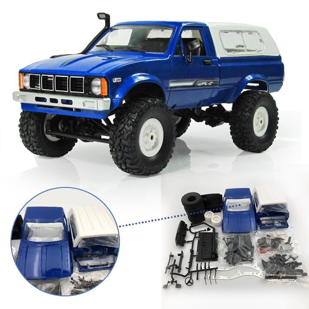 Limited Edition WPL C24 1/16 RTR 4WD 2.4G Military Truck