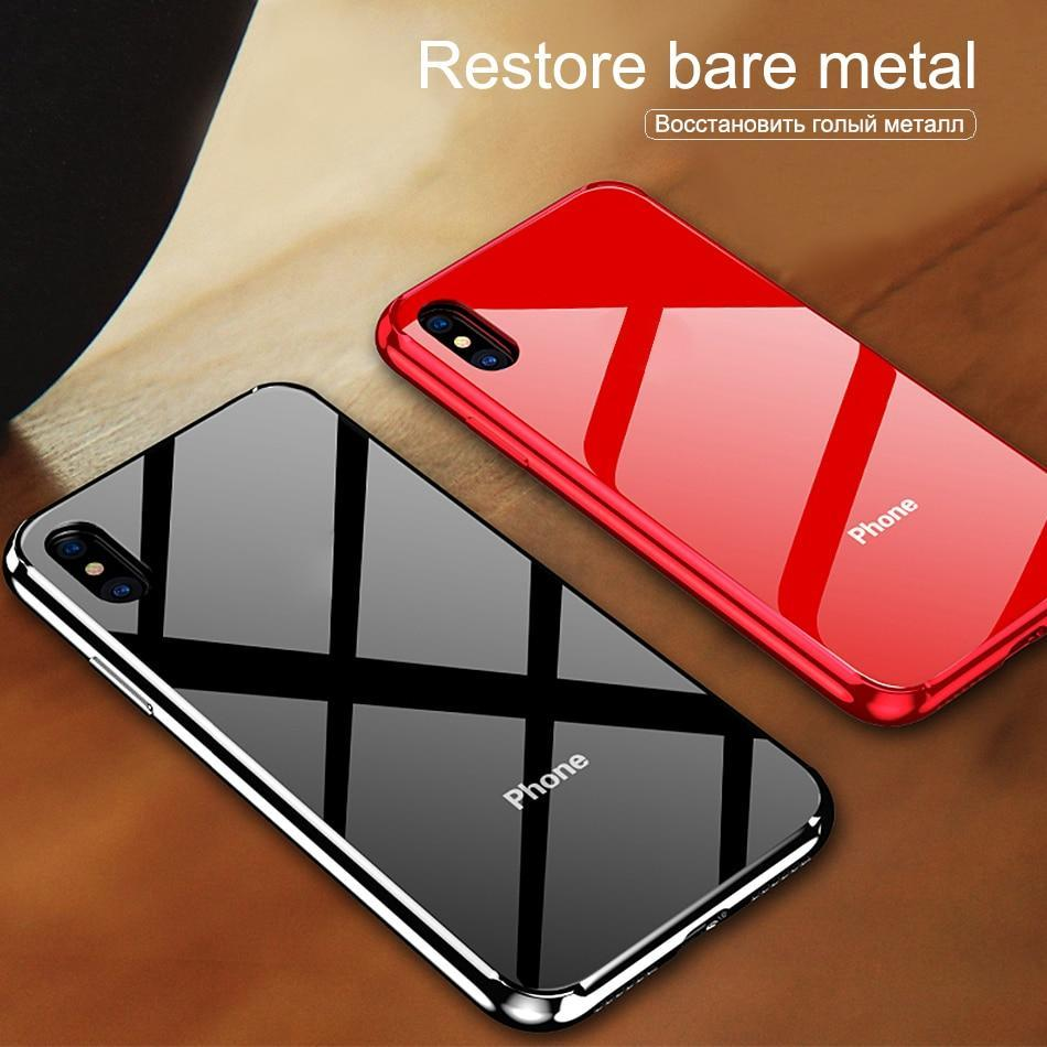 Tempered Glass Cover For iphone XS