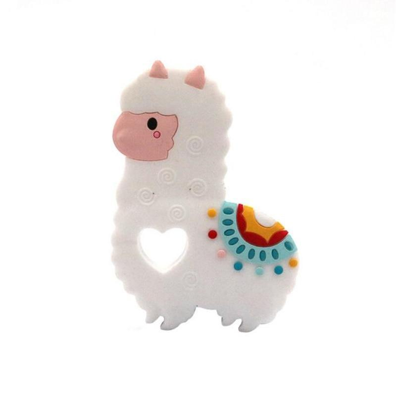 1pcs Sheep Pattern Baby Teether
