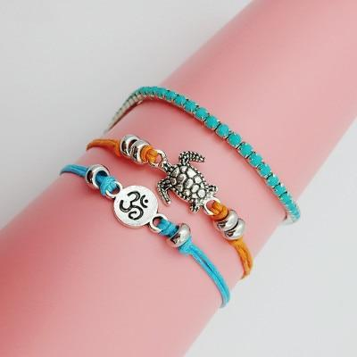 New Multi Layer Anklet Leg Bracelet