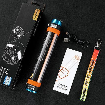 Camping Flashlight Mosquito Repellent USB Rechargeable