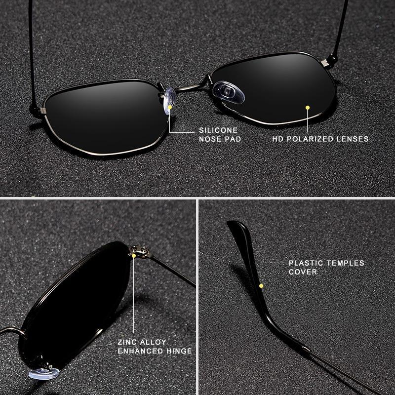 KINGSEVEN Classic Reflective Sunglasses