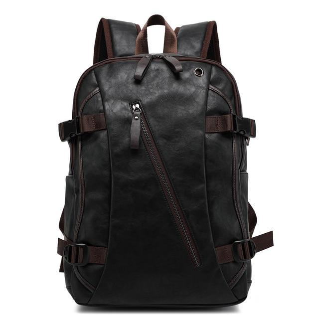 Western Leather Backpack