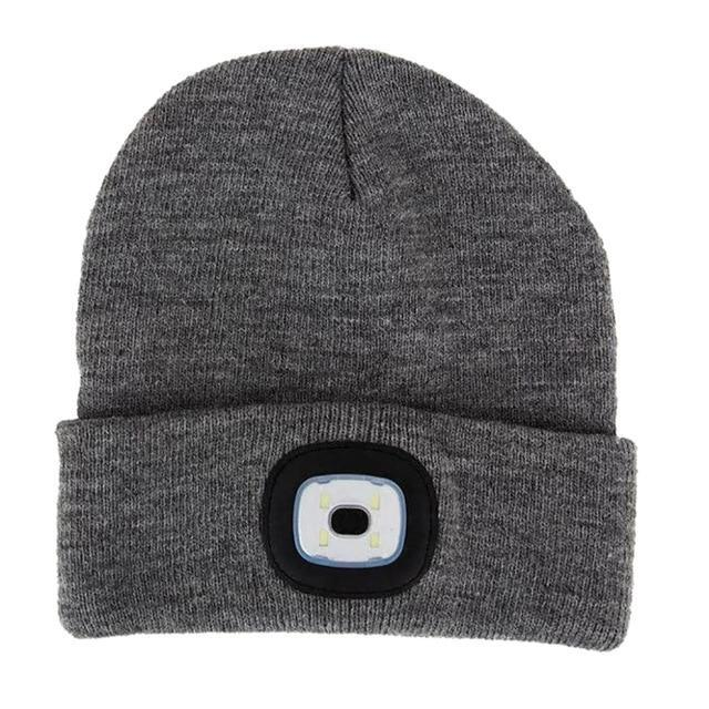 Rechargeable Beanie (LED Headlamp)