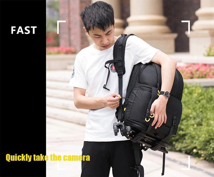 NOVAGEAR 6615 DSLR Camera Backpack