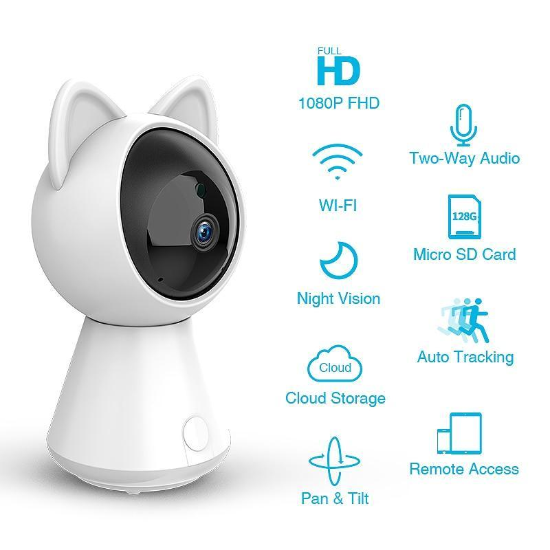 Mini Cat Wireless IP Camera