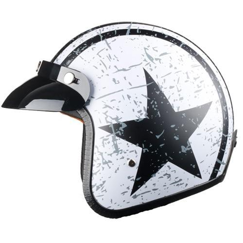 All Star Vintage Open Face Biker Helmets