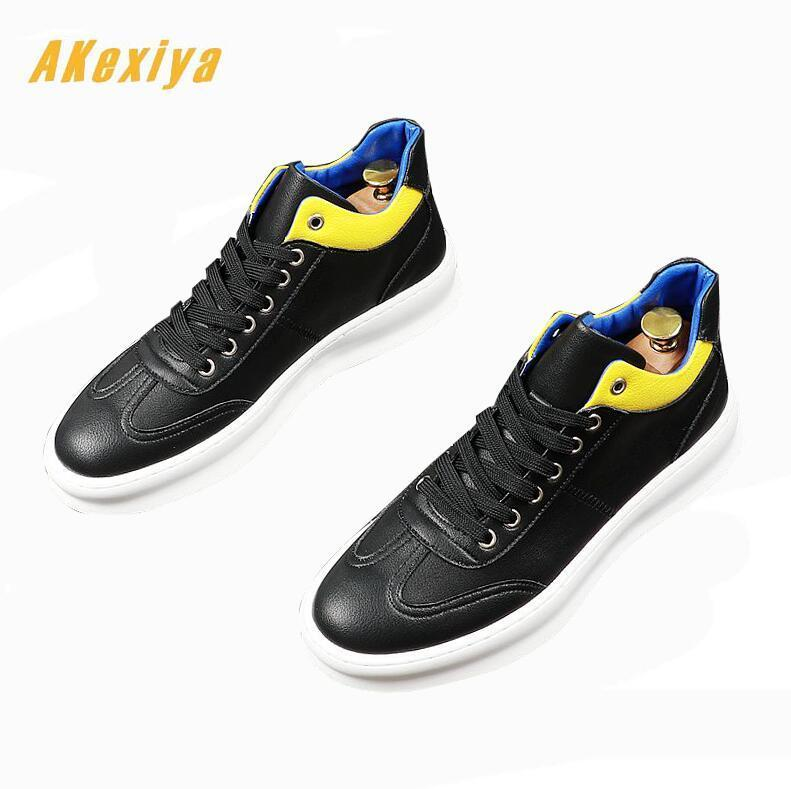 youth Fashion designer Men's mixed color Casual Flats comfortable Shoes