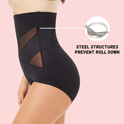 Tired of your shapewear rolling down? We are too. FlexFit is designed with flexible and comfortable SoftFlex structures along the side of the garment to prevent it from rolling down. Dance the night away - your shapewear will stay put!
