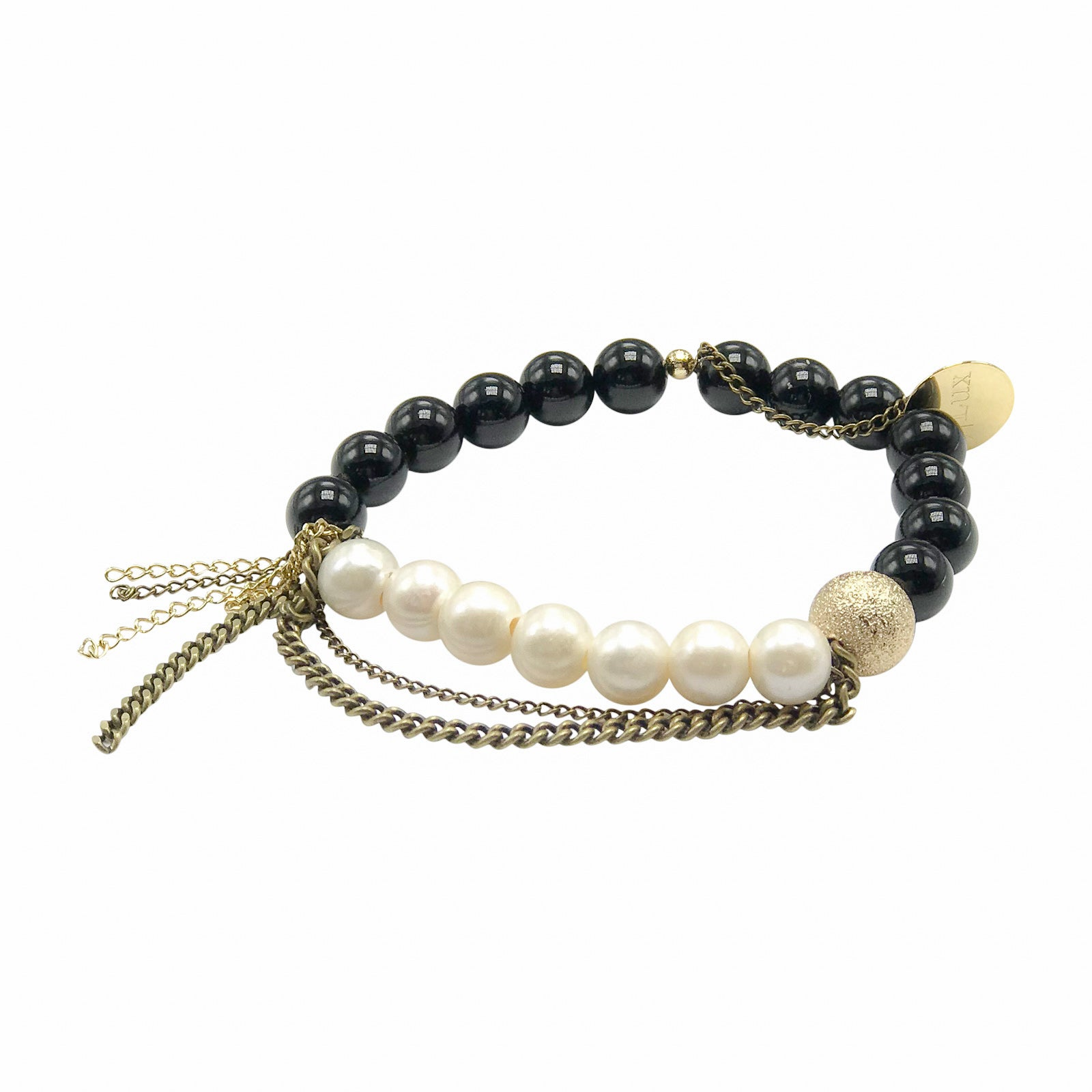 Black Onyx/Fresh Water Pearl
